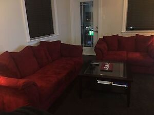 5 seater couches and Coffee table in best shape for sale