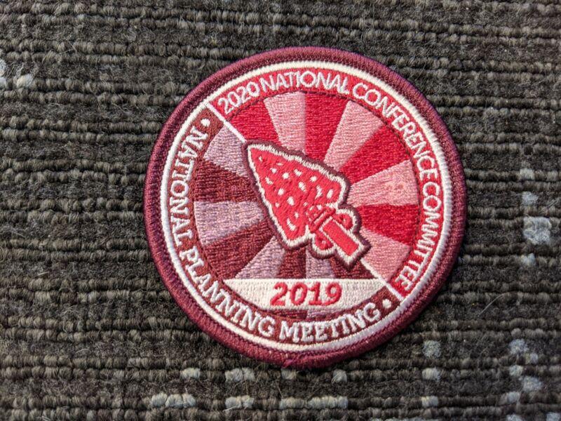 2019 National OA Planning Meeting Patch, NOAC 2020