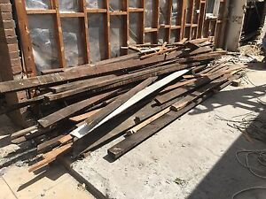 Mixed softwood and hardwood timber beams must go asap North Sydney North Sydney Area Preview