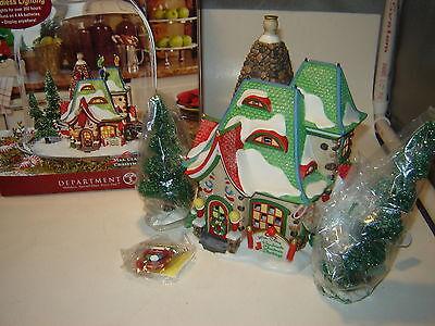 Dept 56 North Pole - Mrs. Claus Handmade Christmas Stockings - NIB