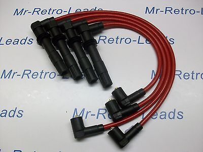 RED 8MM PERFORMANCE IGNITION LEADS TO FIT. VW POLO 1.6 GTi 1.4 16V QUALITY LEADS