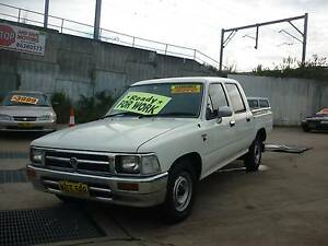 1997 Toyota Hilux Ute DUAL CAB P/UP THIS WEEK SPECIAL Harris Park Parramatta Area Preview