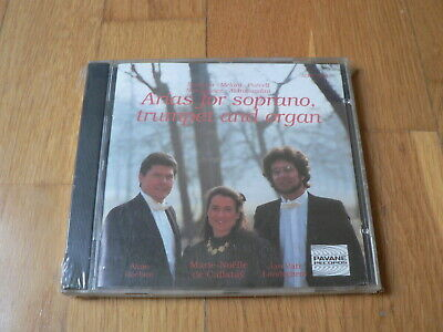 - Baroque Arias for Soprano, Trumpet & Organ - Callatay, Roelant - CD Pavane NEW