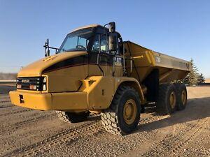 2004 caterpillar 730 articulated dump truck