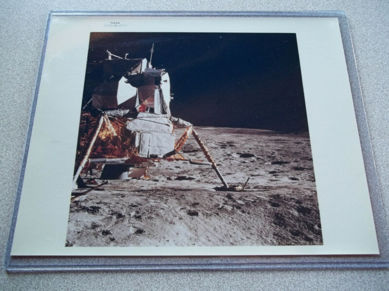 Apollo 14 NASA #rd Lunar Module (LM) on the Moon