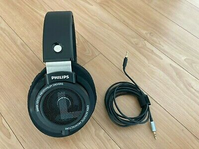 Philips SHP9500 HiFi Precision Stereo Over the Ear Headphones - Black