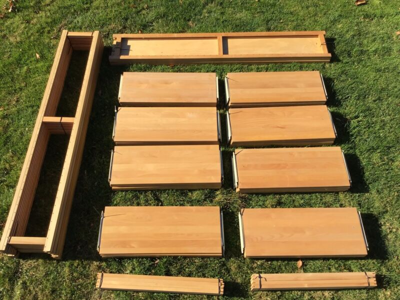 LUNDIA SHELVING LOT - *EXTREMELY DISCOUNTED - OVER $2,000 NEW!*