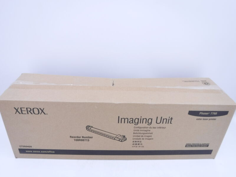 New Genuine Sealed Genuine Xerox 108R0071 Phaser 7760 Imaging Unit