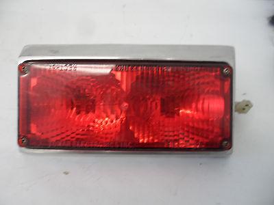 Tomar Sealed Beam Halogen Light W Angled Bezel 3 X 7 Red Lens Rect-37-15-deg