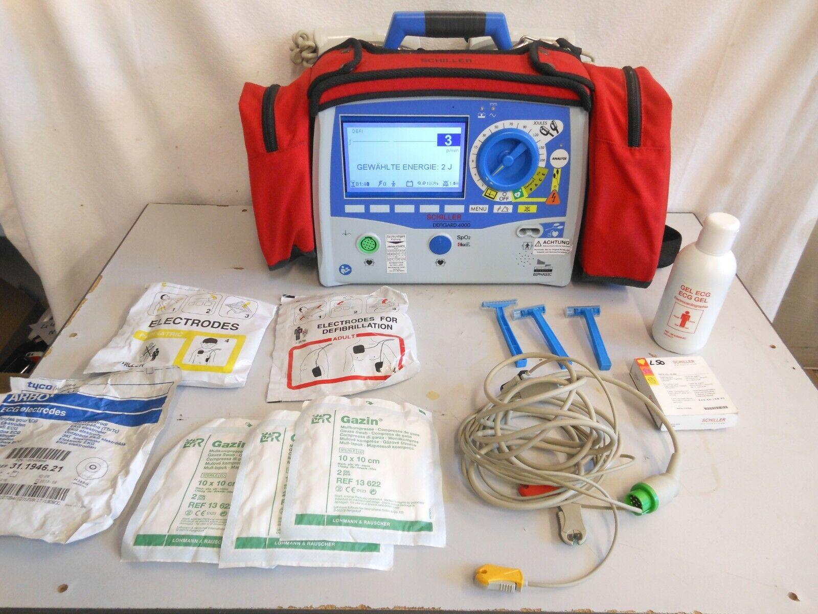 Schiller Defigard 4000 Defibrillator