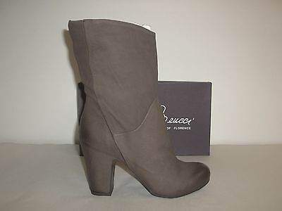 4c688fdfe54 Sesto Meucci Size 6 M Nilly Brown Leather Ankle Heels Boots New Womens Shoes