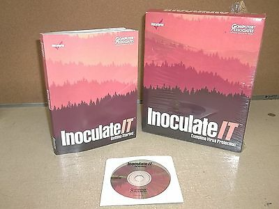 Inoculate It Complete Virus Protection Computer Associates 051999 Ver 4 5