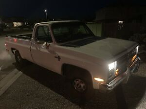 1985 C10 FROM ARIZONA ORIGINALLY MINT CERTIFIED SHAP