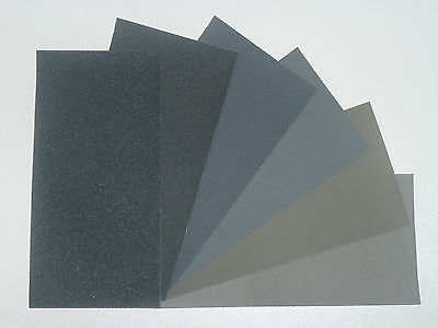 "MICRO-MESH Regular -  Abrasive Polishing Cloth Kit - 6 Sheets of 6""x3"""
