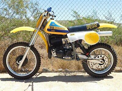 '80 Suzuki RM400 RM 400 T Vintage MX MotoCross Moto-X RACE SHOW Rare Beautiful