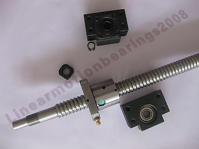 1 Anti Backlash Ballscrew Rm2505-980mm-c7 Bkbf17