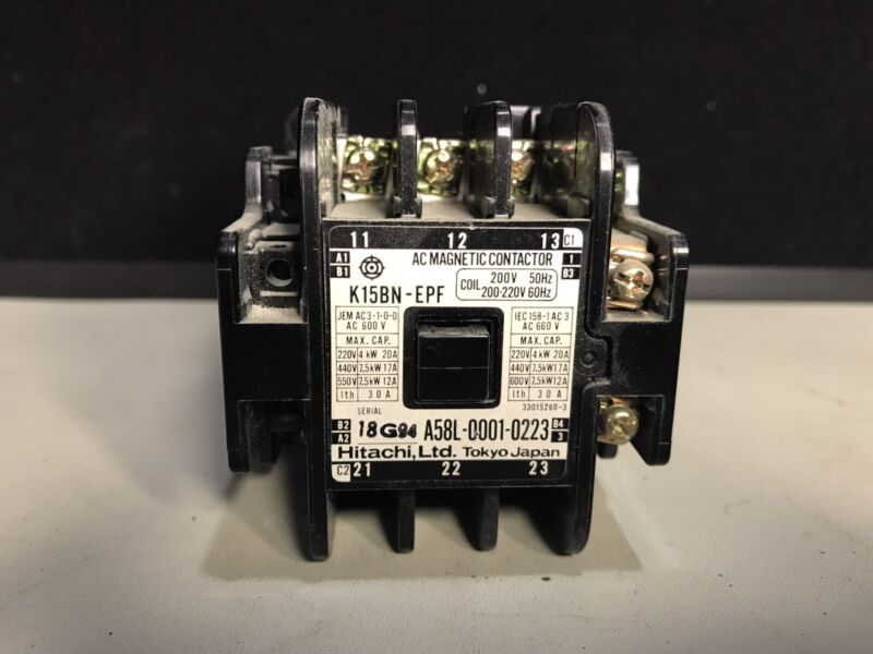 Hitachi Magnetic Contactor A58L-0001-0223 for FANUC Controller