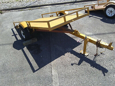 4-wheeler Utility Trailer 4 X 8 Tilting Steel Bed