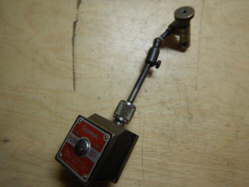 STARRETT NO. 657 MAGNETIC INDICATOR BASE MACHINIST TOOL  LOT LS299B