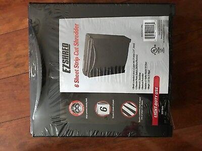 EZ Shred SES-S650 6 Sheet Strip Cut Shredder