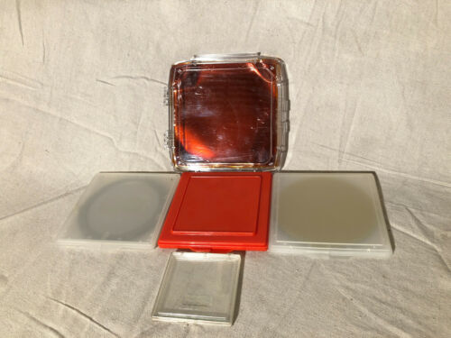"""Photomask Photolithography Holder Carriers 3"""" 5"""" H60-50 H60-51 B80-60-12 (5 pcs)"""
