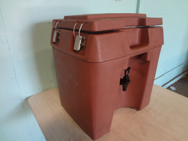 """""""VOLLRATH """" HEAVY DUTY COMMERCIAL HOT OR COLD 5GAL. BEVERAGE DISPENSER/CARRIER"""