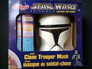Star Wars Clone Trooper Mask and Cereal