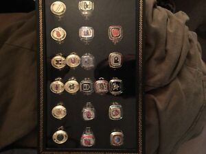 Molson canadian stanley cup ring collection