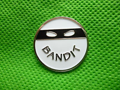 GOLF BALL MARKER . BANDIT. (FREE DELIVERY)