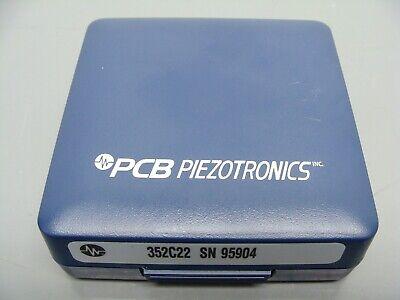 Pcb Piezotronics 352c22 Miniature Lightweight Ceramic Shear Icp Accelerometer