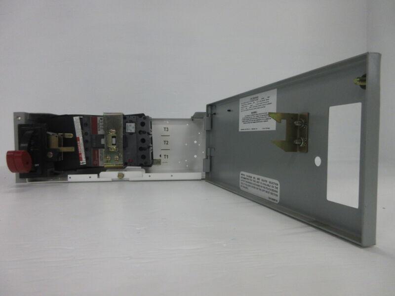 "General Electric GE 8000 70 Amp Breaker 6"" MCC Feeder Bucket w/ 70A SELA Breaker"