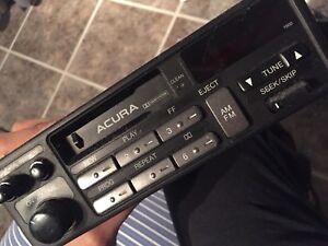 Original Acura Radio/Cassette System