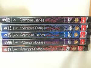 VAMPIRE DIARIES DVD season 1-5 Cannington Canning Area Preview