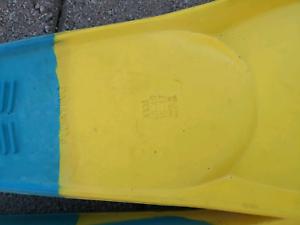 Xxxl slip on swim fins