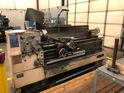 2001 Sharp 1660c Engine Lathe With Tool Post And Tailstock