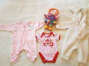 Girls infant clothing and dolly Wavell Heights Brisbane North East Preview