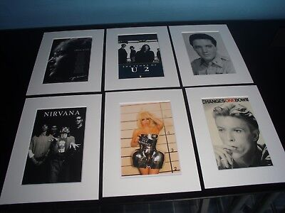 Mounted Rock Pop Prints ( gallery two )