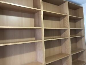 IKEA billy bookcases with height extension