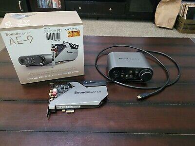 Creative Sound Blaster AE-9 Soundcard/Discrete AMP with Box