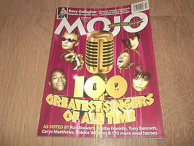 MOJO MAGAZINE ( 59 ) OCTOBER 1998 THE 100 GREATEST SINGERS OF ALL
