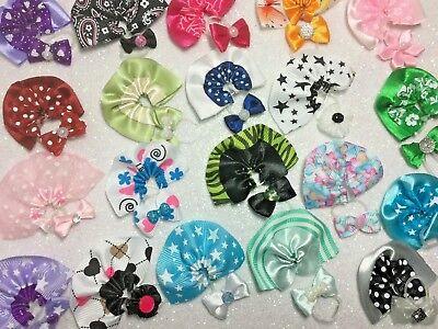 Littlest Pet Shop LPS 10 PC Clothes Bows Skirts ACCESSORIES Random Grab Bag Lot