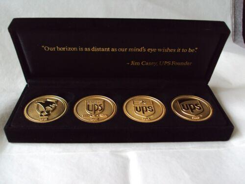 2003 UPS United Parcel Service Gold Logo Coin Set