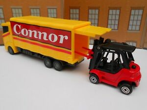 TOY LORRY & FORK LIFT TRUCK PERSONALISED **ANY NAME** Toy Car boy CHRISTMAS GIFT