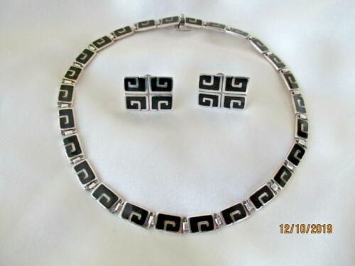 Margo de Taxco Sterling Silver Necklace  ER