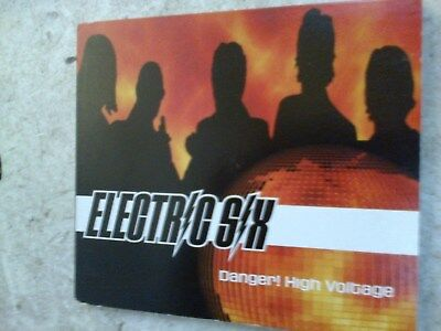 ELECTRIC SIX - DANGER! HIGH VOLTAGE - CD SINGLE - (R12)