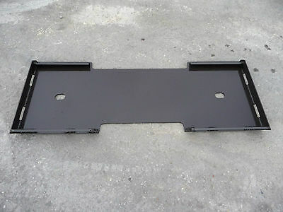 316 Quick Tach Adapter Attachment Mount Blank Plate Fits Skid Steer Bobcat