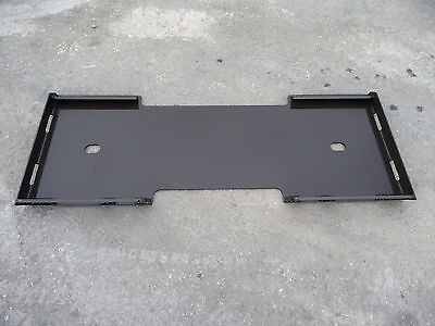 Bobcat Kubota Quick Tach Attachment Skid Steer Mount Weld Plate - Free Ship