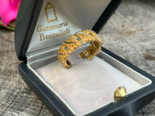 Buccellati 18K Yellow Gold Band