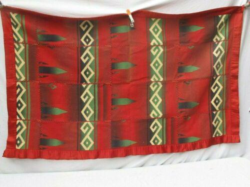 "Antique Pieced Pendleton Blanket 38"" X 61"""