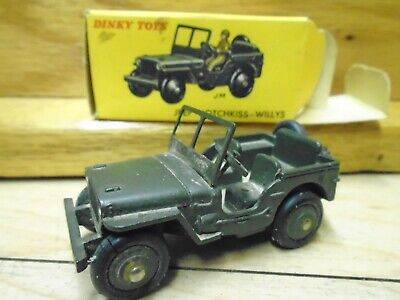 Pare brise PEINT pour JEEP HOTCHKISS WILLYS 80B//816 DINKY TOYS DTF142